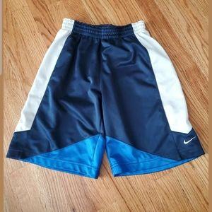 NIKE Boys Size Medium 10-12 Navy And Blue Shorts